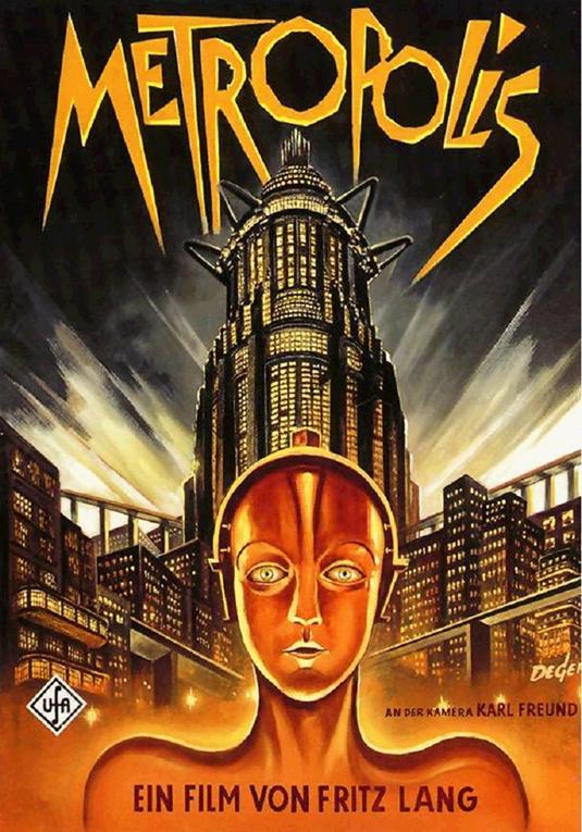 Cartel de Metropolis de Fritz Lang