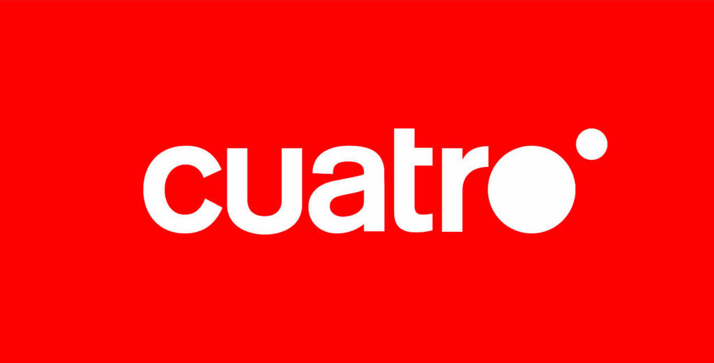 Logotipo Cuatro